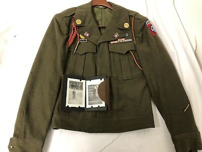 WW2 Original 82nd Airborne Paratroopers Named Grouping