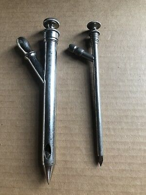 Antique Surgical Medical Pair Of Instruments