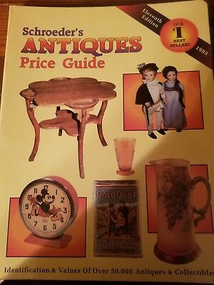 Schroeder's Antiques Price Guide 1993 11th Edition