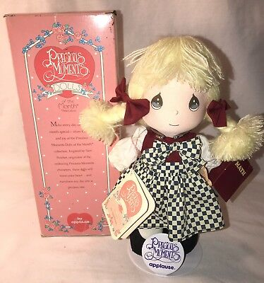 Precious Moments Doll Applause Doll Of The Month September Blonde Excellent