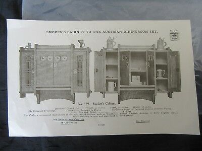 Antique Shop of the Crafters Ephemera Advertising, Smoker's Cabinet & Plate Rack