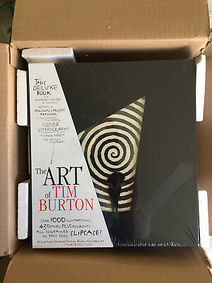 The Art of Tim Burton - Deluxe 2nd Edition - Brand New