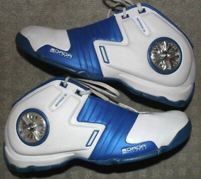 hot sale online d105c 4a236 ... DADA SUPREME SPREE S Size 12 Basketball Shoes Blue White Spinners