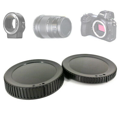 Rear Lens Cover + Camera Front Body Cap for Nikon Z7 Z6 replace BF-N1 LF-N1