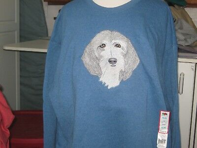Sale New Petit Basset Griffon Vendeen Emb. Sweatshirt Add Name For Free