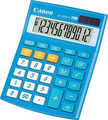 Canon New Basic Calculator LS-120VII Blue