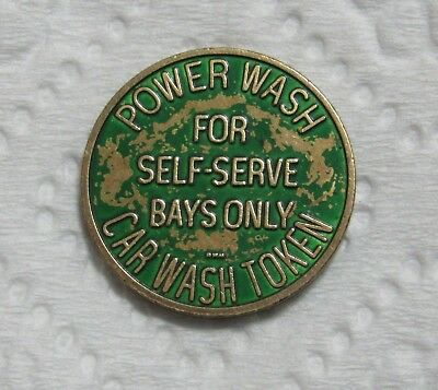 Power Wash Car Wash - For Self Serve Bays Only - Token