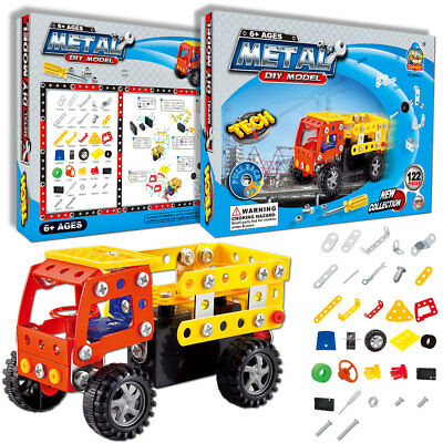 121 Pieces Creative Games Fun Gifts for 5+Year Old Kids STEM Building Kits Set