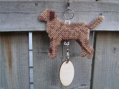 Chesapeake Bay Retriever dog crate tag or hang anywhere sign ornament, Chessie