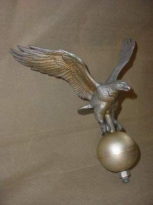 VINTAGE CAST Aluminum Full Bodied SOLID FLYING EAGLE WEATHERVANE W/BALL