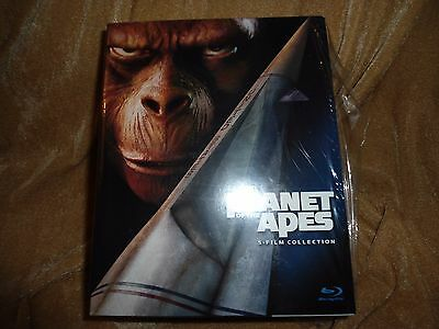 Planet of the Apes 5-Film Collection [Blu-ray] (2011) [5 Blu-Ray Disc]