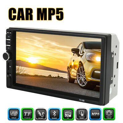 7 Inch 1080P 2Din GPS Navigation Car Player Stereo Bluetooth Car MP5 Player CA