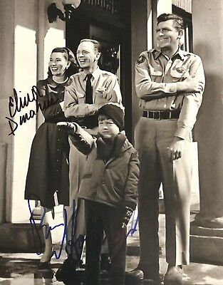 Ron Howard Elinor Donahue DUAL AUTHENTIC SIGNED 8x10 Photo Andy Griffith Show