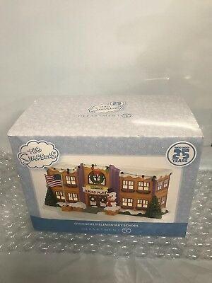 Dept 56 Simpsons Springfield Elementary School Collectible 25th Anniversary