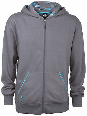 JINX Minecraft Big Boys' Diamond Premium Zip-up Hoodie