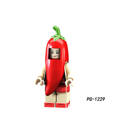 PG1232 Green Pepper Compatible Collectible POGO #1232 Gift New Toy #H2B