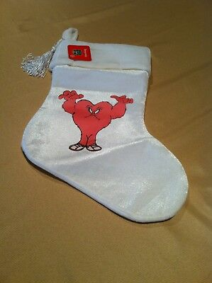 "Warner Bros Gossamer Christmas Stocking - White - 16"" Long"