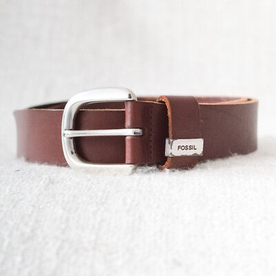 Fossil genuine leather belt Size S