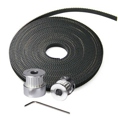 CCTREE 5Meter GT2 Open Timing Belt 10mm Wide 2mm Pitch for 3D Printer CR10-S4 S5