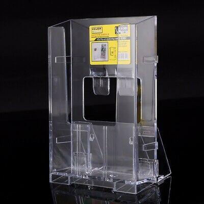 Transparent Acrylic Business Card Holder Brochure Table Desk Stand Display A4