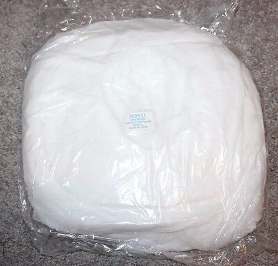 Safety Zone Disposable Hair Net Bouffant Surgical White Cap Food Service 100 Pcs