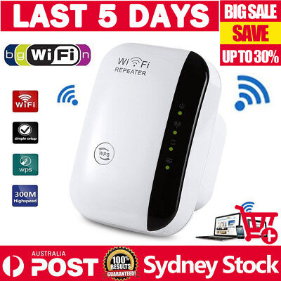 AU G 300Mbps Wireless N 802.11 Wifi Repeater AP Range Router Extender Booster