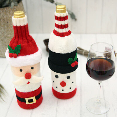 Bottle Bag Christmas Decoration Home & Kitchen Bags Tableware Tables Cartoons