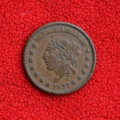 1837 Hard Times Token - Millions For Tribute, Not One Cent For Tribute