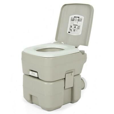 20L Toilet Flush Portable Potty Commode Outdoor Camping Equipment Vehicle Boat