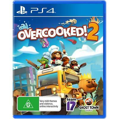 Overcooked 2 PlayStation 4 PS4 GAME BRAND NEW FREE POSTAGE Overcooked! 2