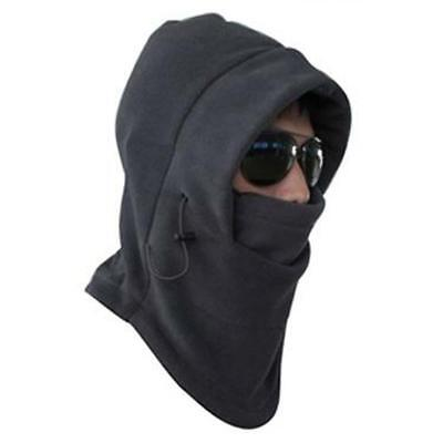 New 2016 Thermal Fleece 6 in 1 Balaclava Hood Police Swat Ski Mask Cool Gray KS