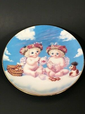 Hamilton Collection Dreamsicles A Heavenly Tea Party Plate #1868A