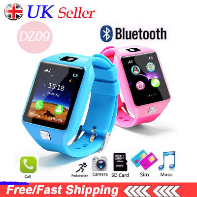 DZ09 Smart Watch Sim Phone Bluetooth Camera Apple&Android Compatible -UK Stock