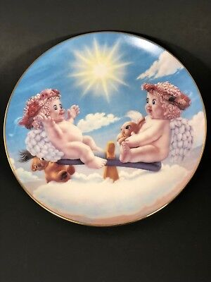 Hamilton Collection Dreamsicles Teeter Tots Plate # 1402A