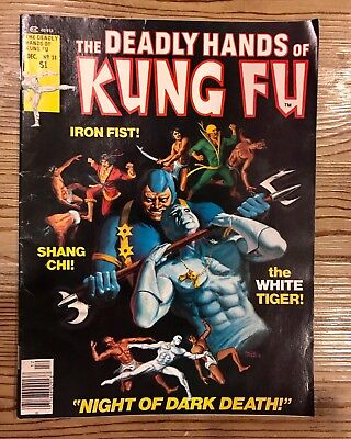 Stan Lee Presents: The Deadly Hands Of Kung-Fu #31 1976 Raw Ungraded Comic Book