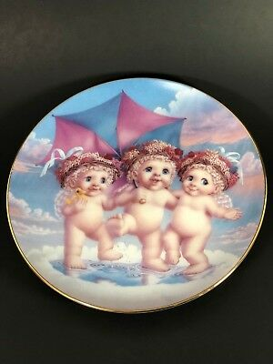 Hamilton Collection Dreamsicles Rainy Day Friends Plate # 1349B