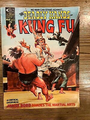 Stan Lee Presents: The Deadly Hands Of Kung-Fu #12 1975 Raw Ungraded Comic Book
