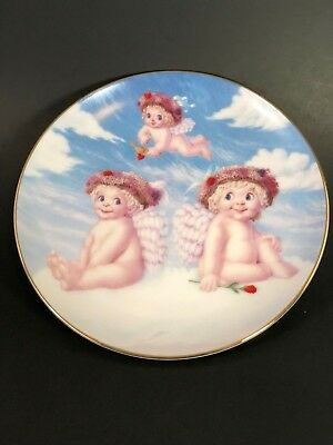 Hamilton Collection Dreamsicles Love's Shy Glance Plate # 2673C