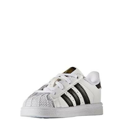 adidas Superstar Baby/Toddler Kids' Casual Shoes Size 4c-6c NEW WITH BOX