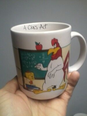 Foghorn Leghorn Coffee Mug Cup Glass Warner Brothers Bros. Looney Tunes Applause