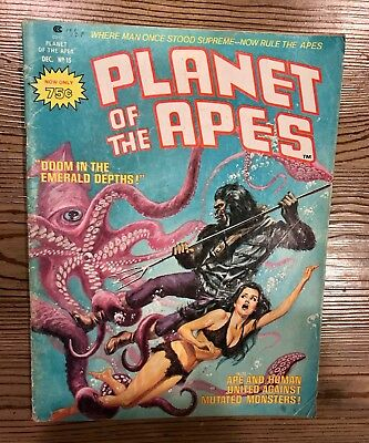 Stan Lee Presents: Planet Of The Apes Vol #1 Issue #15 1975  Raw Ungraded Comic