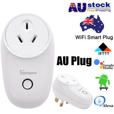 Smart Home WiFi APP Remote Power Socket AU Plug Outlet Switch For ALEXA GOOGLE