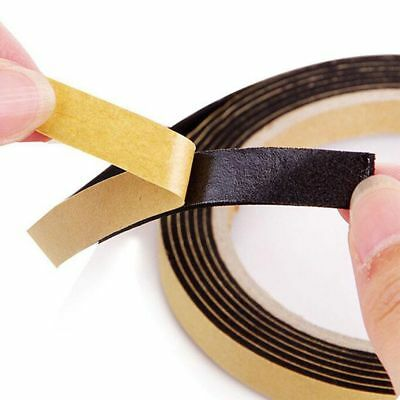 5M Weather Sticky Stripping Sponge Rubber Single Sided Foam Tape Self Adhesive