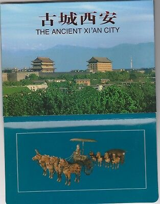China; China; The Ancient XI'an City Collection of 12  unused postcards