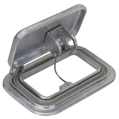 Vent Scupper, Small Alloy Air Vent For Caravan, Trailer, Boat.