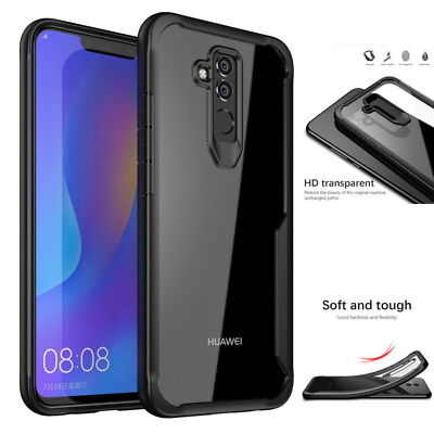 For Huawei Mate 20 Lite Luxury Hybrid Shockproof Protective Silicone Case Cover