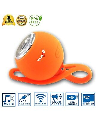 Wireless Bluetooth Speaker,Outdoor Portable Stereo Speaker with HD