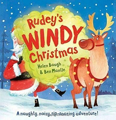 Rudey's Windy Christmas by Helen Baugh BRAND NEW BOOK (Paperback, 2014)