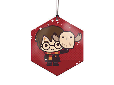 Harry Potter Hanging Ornament Decoration Harry and Hedwig