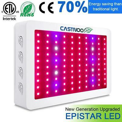 500W LED Grow Light Hydro Full Spectrum Veg Flower Indoor Plant Lamp Panel KS